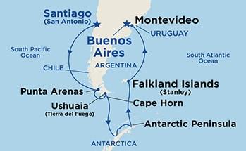 Интересные маршруты морских круизов